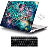 iCasso MacBook Air 13 Inch Case 2020 2019 2018 Release A2337 M1/A1932/A2179 with Retina Display Touch ID, Durable Hard Plasti