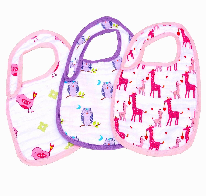 【在庫あり/即出荷可】 Today's & Deal Cute Baby Burping, Burp Bibs & Baby Baby Burp Cloths. Multi Layers Muslin Baby Bibs For Burping, Drools, Feeding, Teethers. Baby Washcloth, Burp Bibs For Boy & Girl. Fancy Baby Bib For Baby Shower Gift by Pretty Baby B01GISMMXK, ハイヒール専門店 BEMILANO:aa49a5e0 --- a0267596.xsph.ru