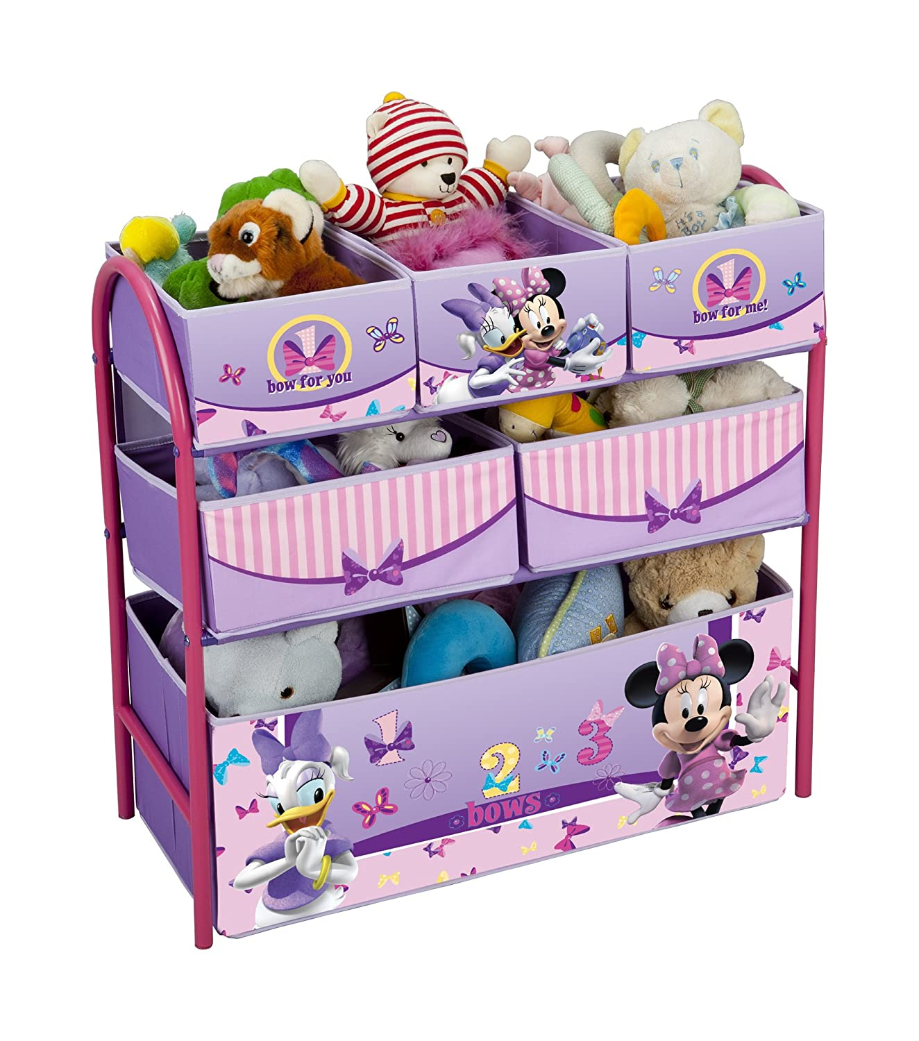 Delta Children Meuble de Rangement en Métal Minnie Amazon