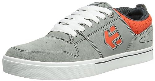 Etnies - Zapatillas de skateboarding para hombre gris Dark Grey Black, color gris, talla 44: Amazon.es: Zapatos y complementos