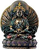 Bronze Amitayus Sitting On Lotus Buddhism Decoration Figurine