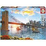 Educa Borrás - Puzzle Puente de Brooklyn, 4000 piezas (16782.0)