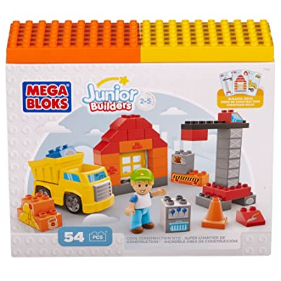 Building Blocks Cool Construction Site: Toys & Games