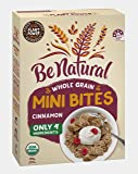 Be Natural, Breakfast Cereal, Whole Grain Mini Bites Cinnamon, 460g