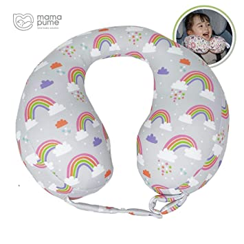 Baby Pillow Kids Travel Neck Pillow U-Shape for Car Headrest Air Cushion Child Car Seat Head Support Infant Baby