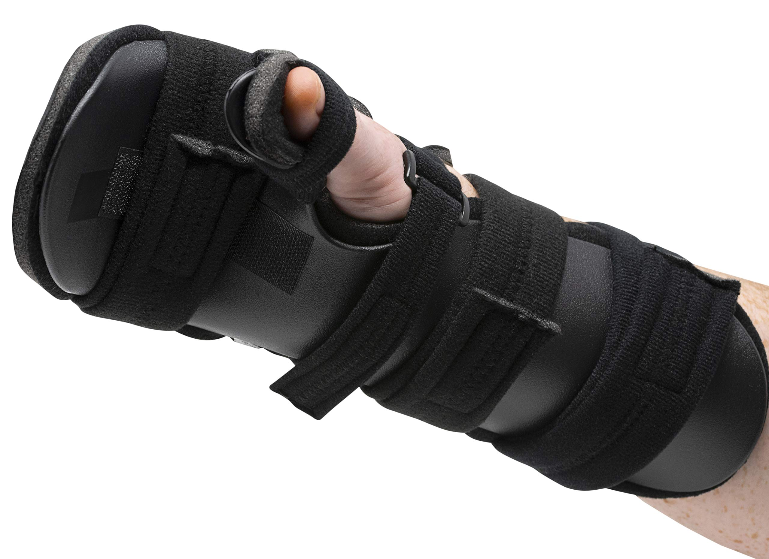 Stroke Hand Splint- Soft Resting Hand Splint for Flexion Contractures, Comfortably Stretch and Rest Hands for Long Term Ease with Functional Hand Splint, an American Heritage Industries(Right, Medium) by American Heritage Industries (Image #7)