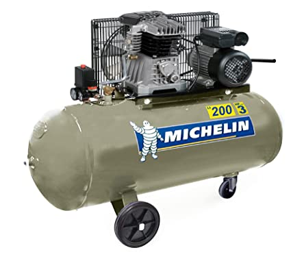 Michelin GB200 Compresor Correa 3 CV/230 V 200 L