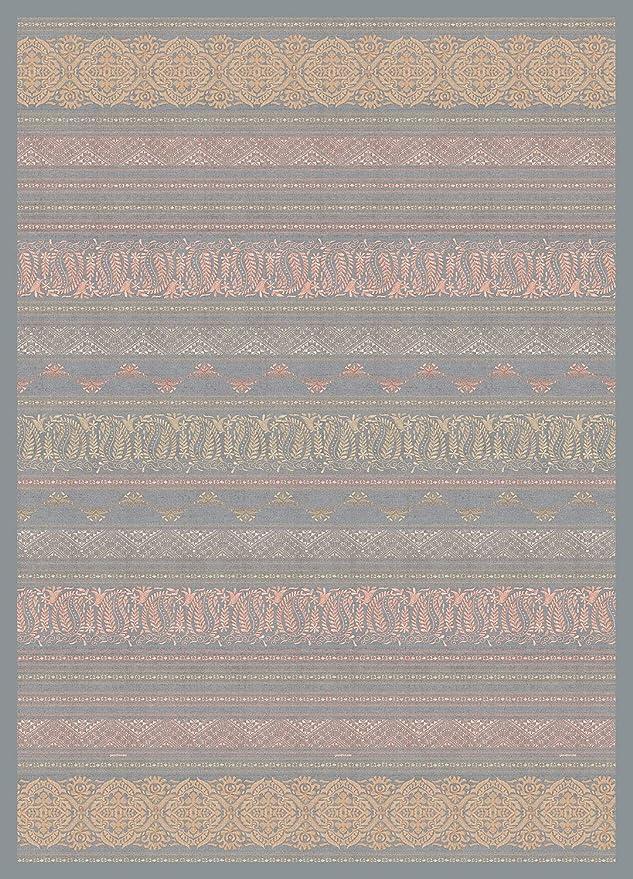 Bassetti MONTEFANO Plaid Coton Rouge 270 x 250 cm