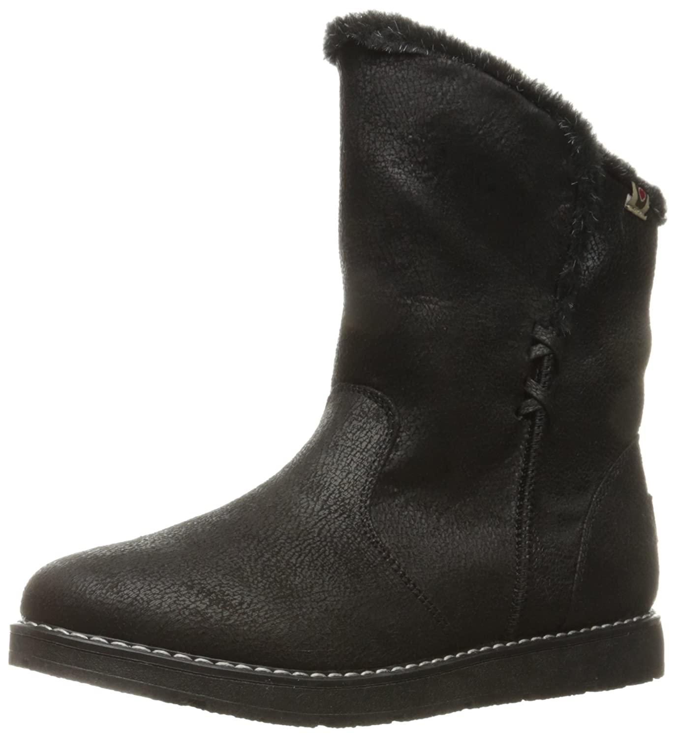 Skechers BOBS from Women's Bobs Alpine Puddle Jump Cozy Winter Boot B01ABY2ON0 6 B(M) US|Black