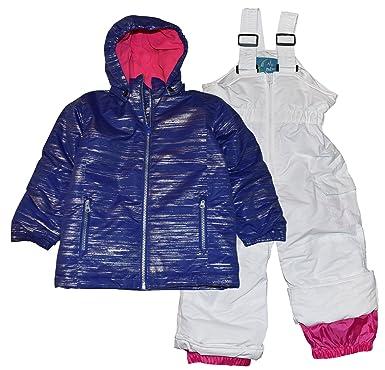 1f4b508b5 Amazon.com: Pulse Toddler and Little Girls' 2 Piece Snowsuit Set Glitter:  Clothing