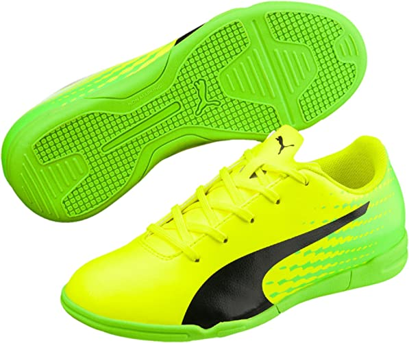 Puma EvoPower Vigor 4 IT Jr Hallenschuhe Kinder Fußballschuhe Turnschuhe