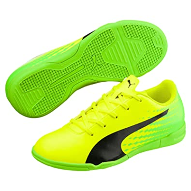 Puma Evospeed 17.5 IT Jr, Chaussures de Football Mixte Enfant, Gelb (Safety  Yellow