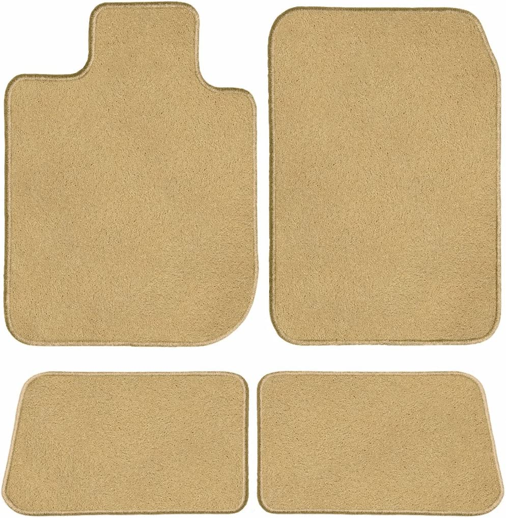 Beige Nylon Fiber GG Bailey D3854A-S1A-BGE Two Row Custom Fit Car Mat Set for Select Ford Escape Models