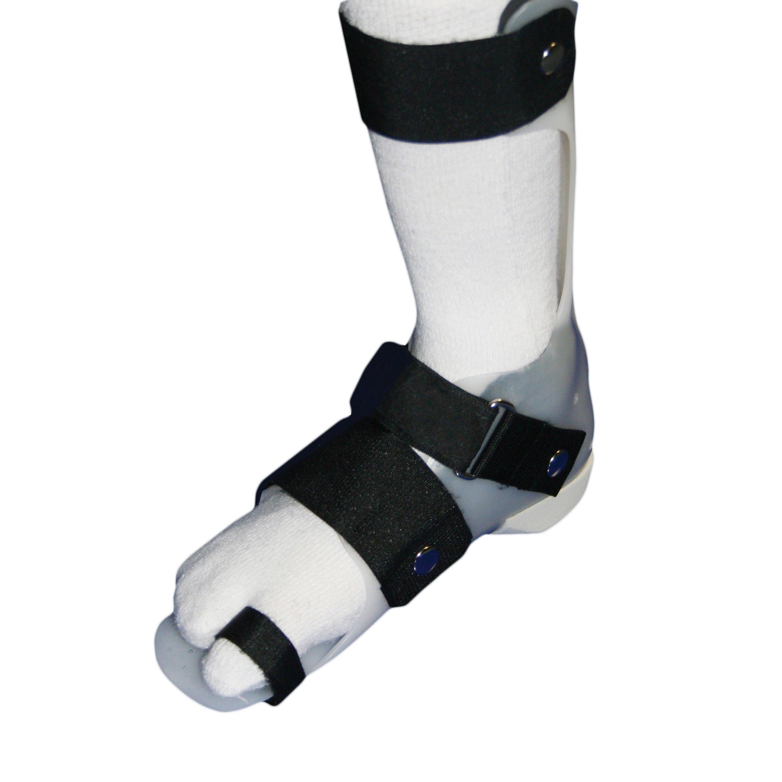 SmartKnit Big Toe AFO Socks - Child Small - Black