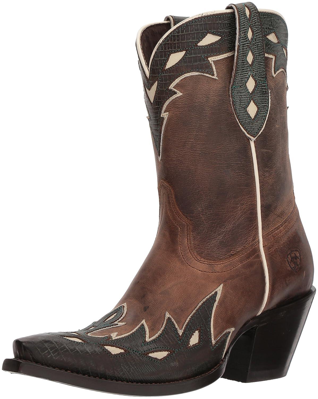 Ariat Women's Juanita Western Boot B076MF5N39 7.5 M US|Warm Stone