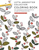 Lotta Jansdotter Collection Coloring Book: 45+ Contemporary Prints & Patterns to Color for Creativity & Joy