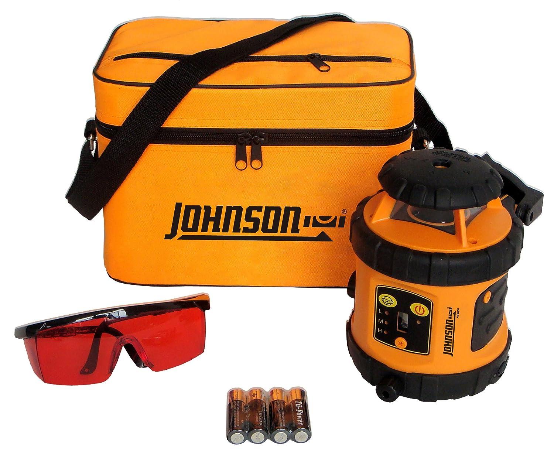 Johnson Level and Tool 40 6515 Self Leveling Rotary Laser Level