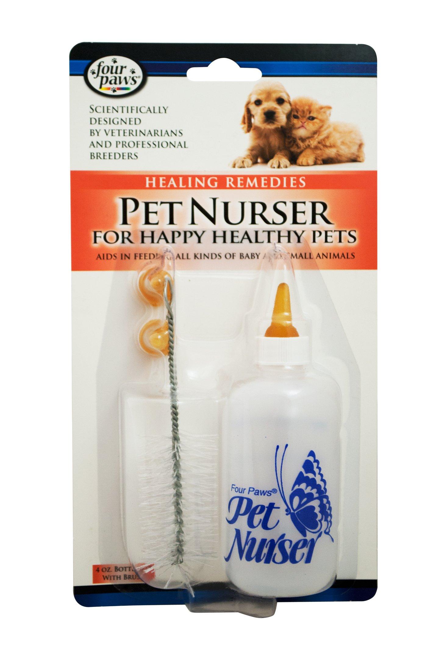 Four Paws Pet Nursing Bottle Kit Single Unit 4 oz.