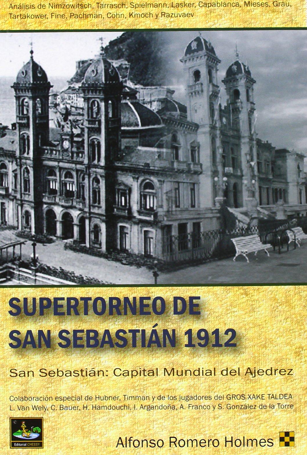 Amazon.com: Supertorneo de San Sebastián 1912 (9788494032011 ...
