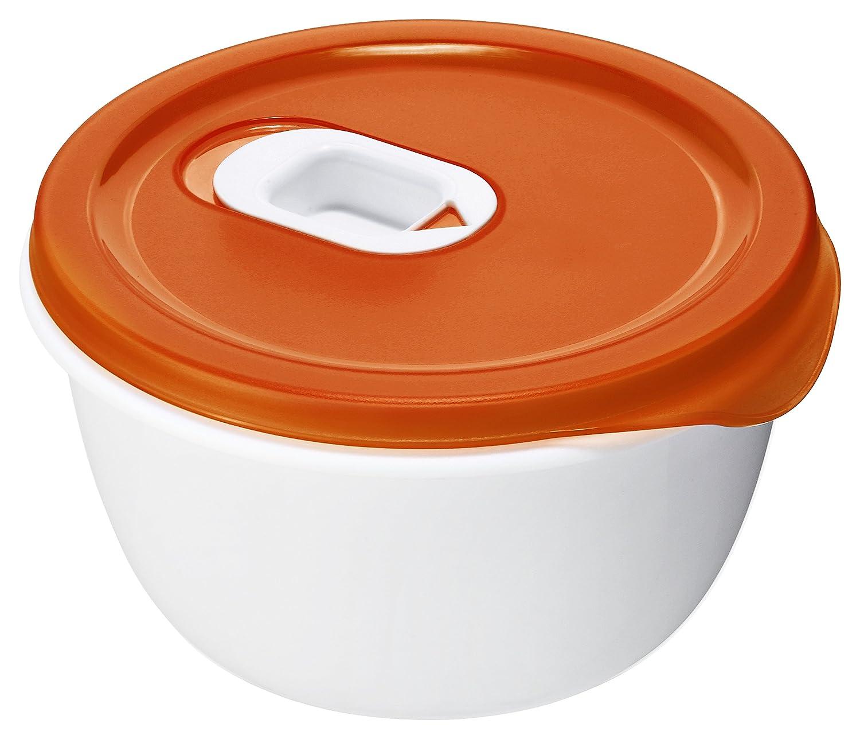Rotho 1737102792 Microondas de Bol (1, 5 L, plástico, Rojo ...