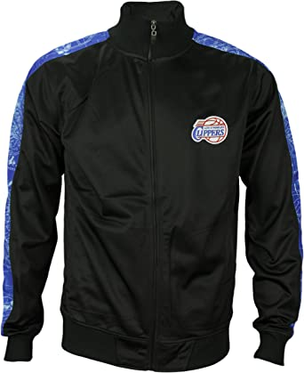 Los Angeles Clippers NBA Mens Zipway Blue Print – Chaqueta de ...