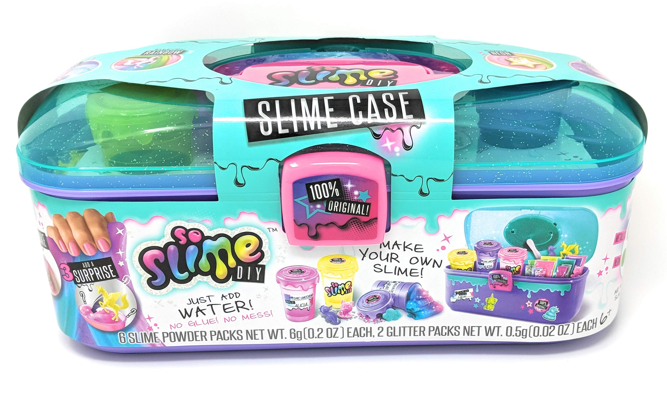 CANAL TOYS So Slime DIY Factory + DIY Caddy and Bonus 3 Pack Rainbow and Cosmic Slime Shakers Bundle by CANAL TOYS (Image #3)