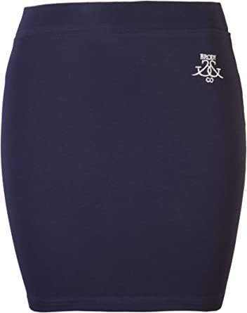 Brody & Co. - Falda corta para mujer (algodón elástico): Amazon.es: Ropa y accesorios