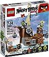 Lego Angry Birds 75825 - Nave dei pirati dei Maiali, Gioco di costruzioni