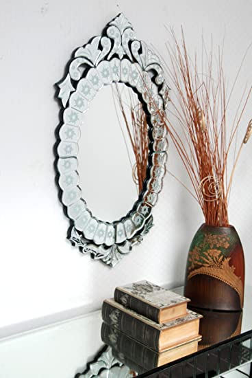 Buy Venetian Design Venetian Style Wall Mirror Vds 23 Size 42x22 Inches Online At Low Prices In India Amazon In
