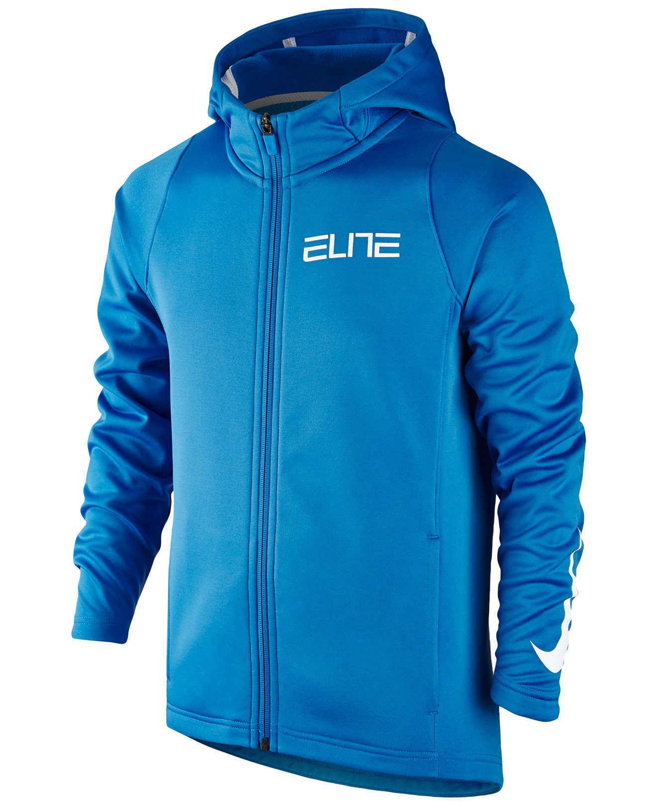 Nike Boys' Elite Basketball Hoodie (S)