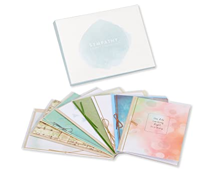 Amazon american greetings premium sympathy greeting card american greetings premium sympathy greeting card collection 8 count m4hsunfo