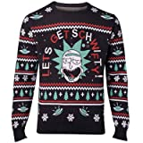 RICK AND MORTY Christmas Jumper Get Schwifty