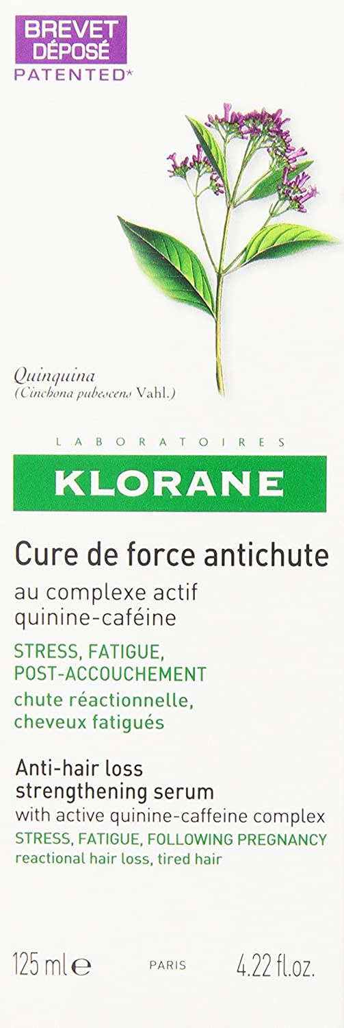 KLORANE SERUM FORTIFICANTE ANTICAIDA 125: Amazon.es