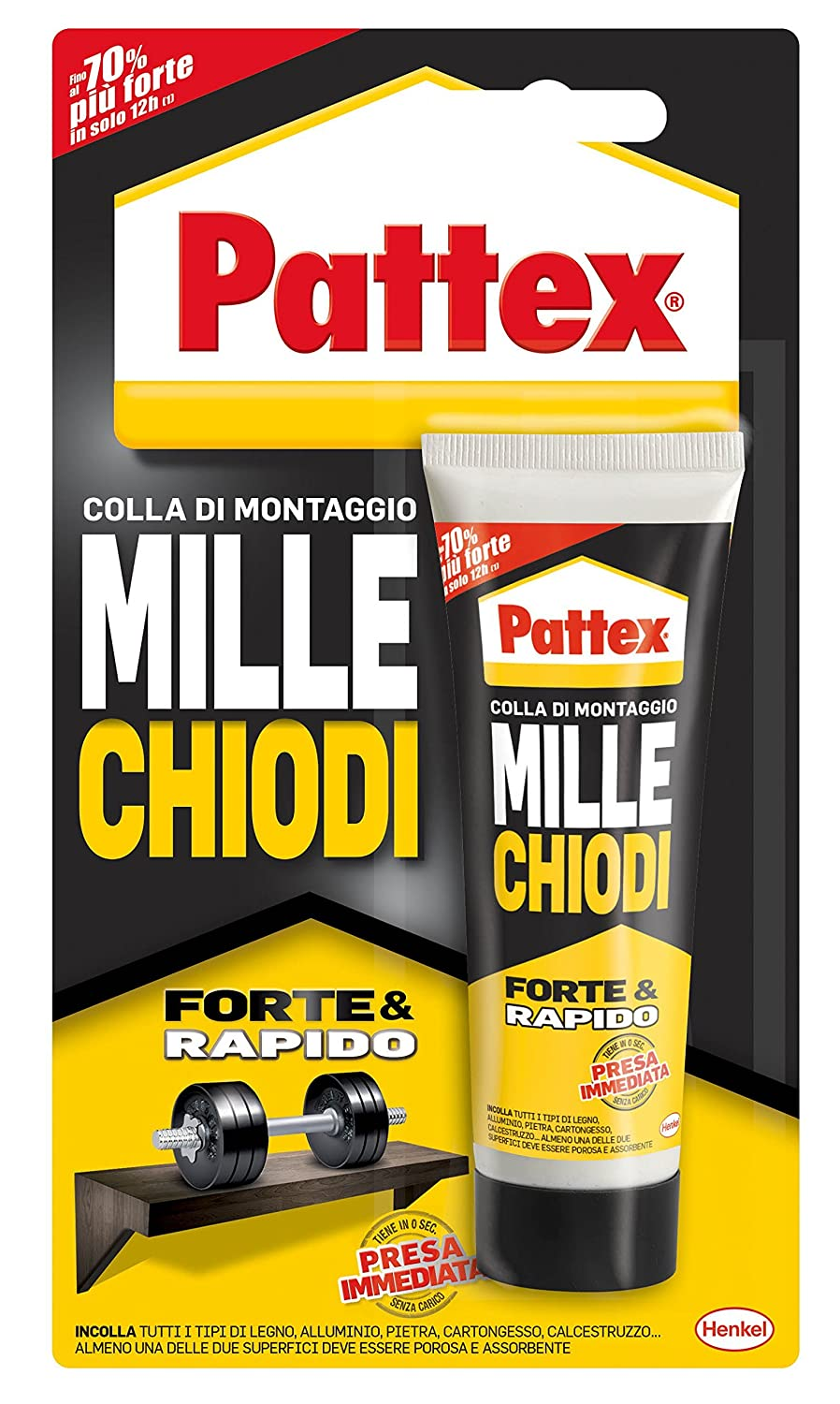 Pattex MILLECHIODI  –   Rubber 10880