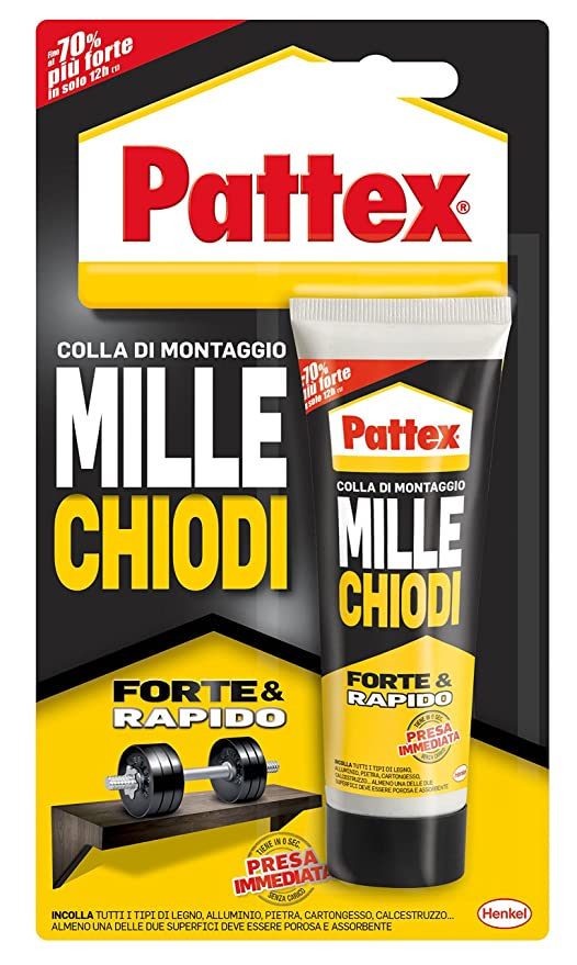 Amazon.com: Pattex MILLECHIODI – Rubber: Office Products