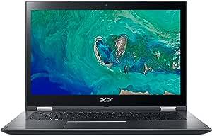 "Acer Spin 3 SP314-51-52ZL - Ordenador portátil de 14"" Full HD (Intel Core i5-8250U, 4GB RAM, 1TB HDD + 16GB Intel Optane, UMA, Windows 10) Gris- Teclado QWERTY Español"