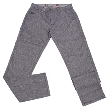 ee6e7664d1 9.2 CARLO CHIONNA 5008X Pantalone Uomo Blue Cotton Trouser Man ...
