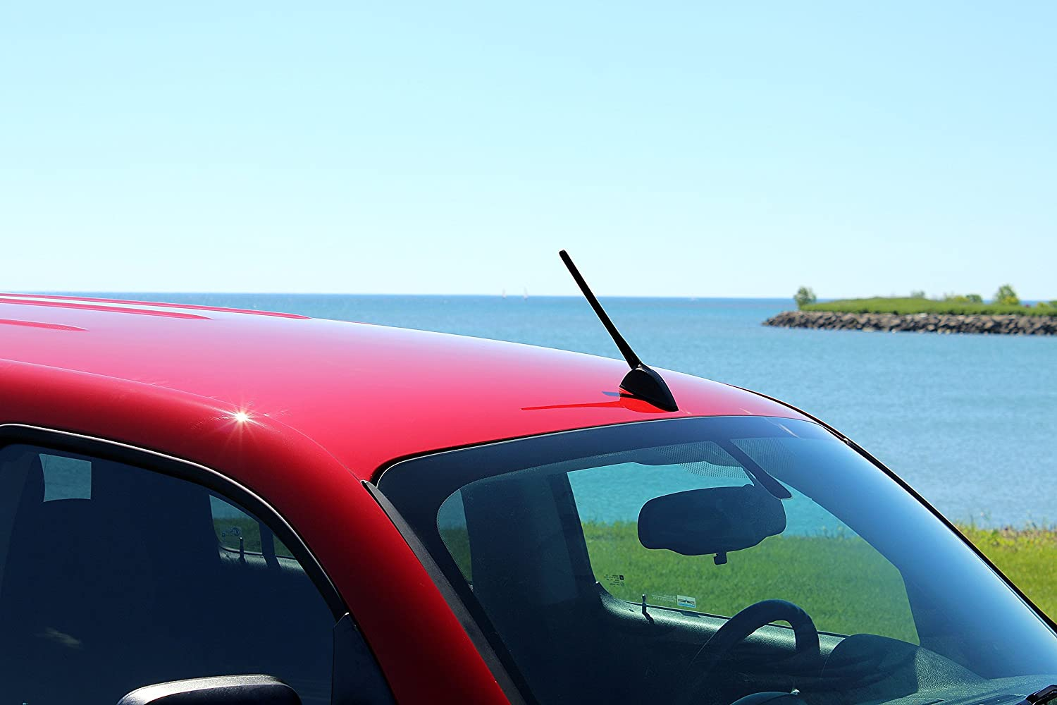 AntennaMastsRus 2011-2019 8 Screw-On Antenna is Compatible with Mazda 2