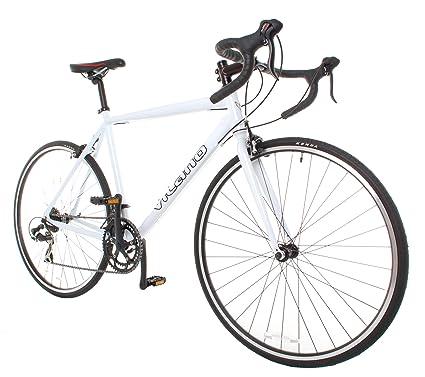65ec37e1fbd Amazon.com : Vilano Shadow Road Bike - Shimano STI Integrated ...