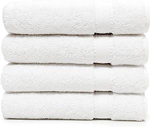 Linum Home Textiles SN00-4HT Bath Towel, White
