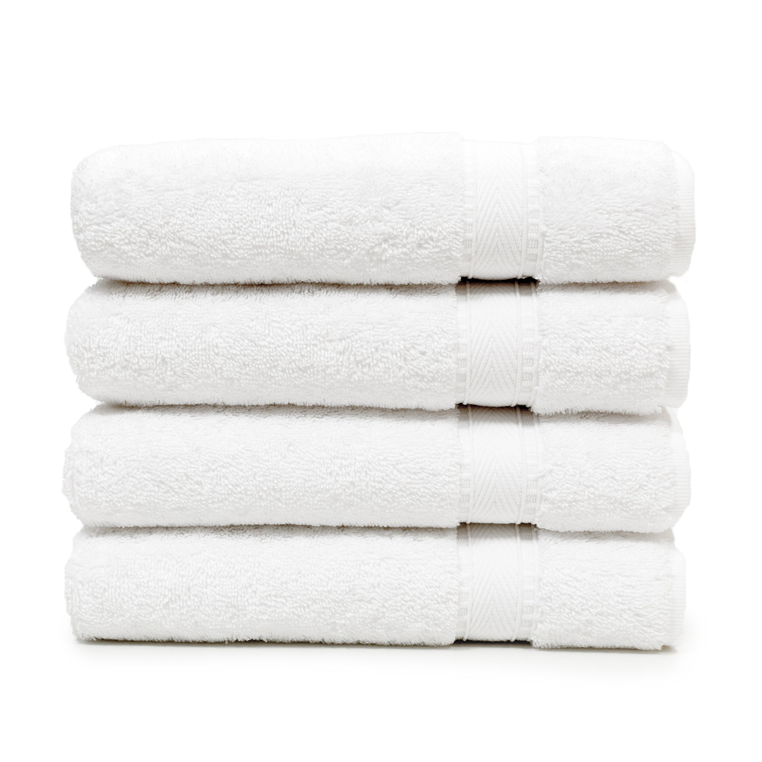 Linum Home Textiles SN00-4HT Bath Towel, White