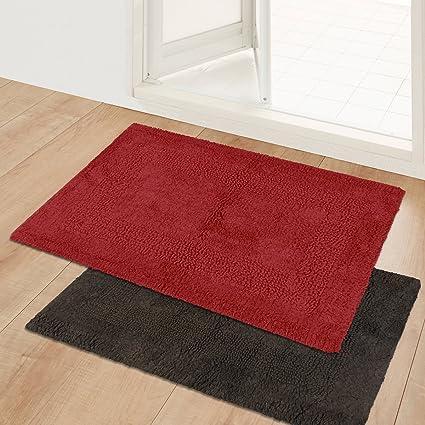 Story@Home Door Mat Combo Set Of 2, Diana Premium Cotton Blend Series,