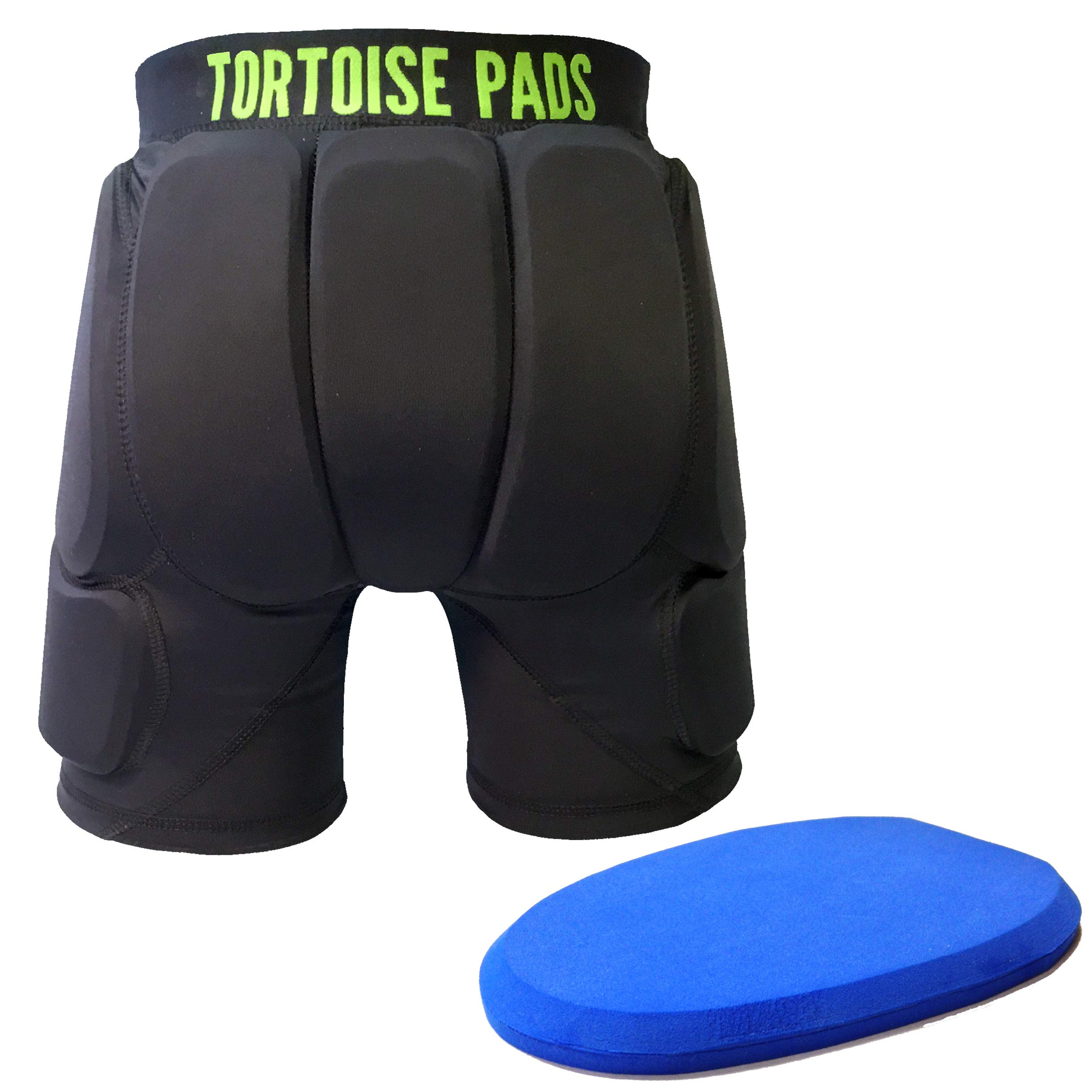 Tortoise Pads Single Density Impact Protection Padded Shorts (Youth Small)
