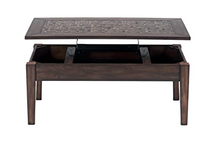 Jofran 698 5, Baroque, Rectangle Lift Top Cocktail Table, 48u0026quot; W X