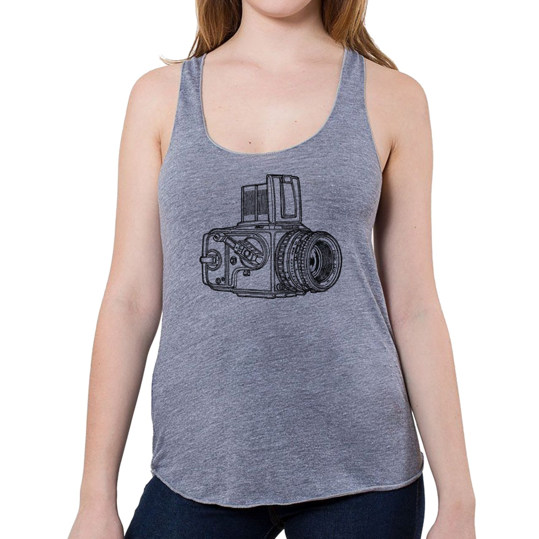 GarageProject101 Women鈥檚 Classic Hasselblad Camera Tank Top (Junior Size)