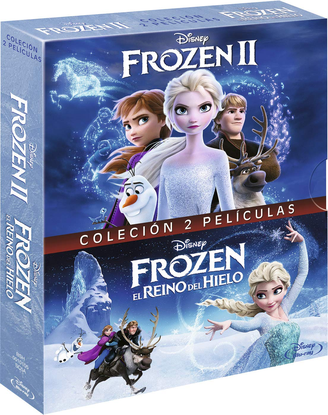 Pack: Frozen + Frozen 2 (BD) [Blu-ray]: Amazon.es: Personajes ...