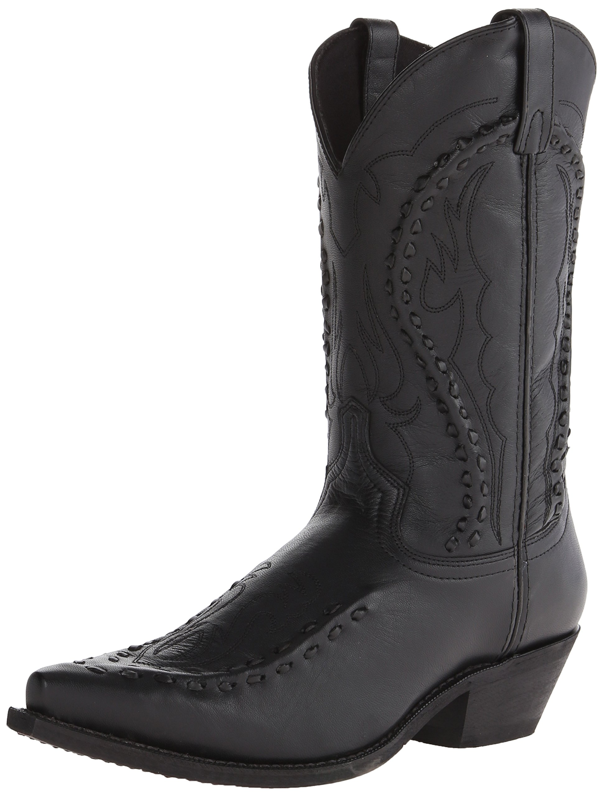 Laredo Men's Laramie Western Boot, Black, 13 D US by Laredo