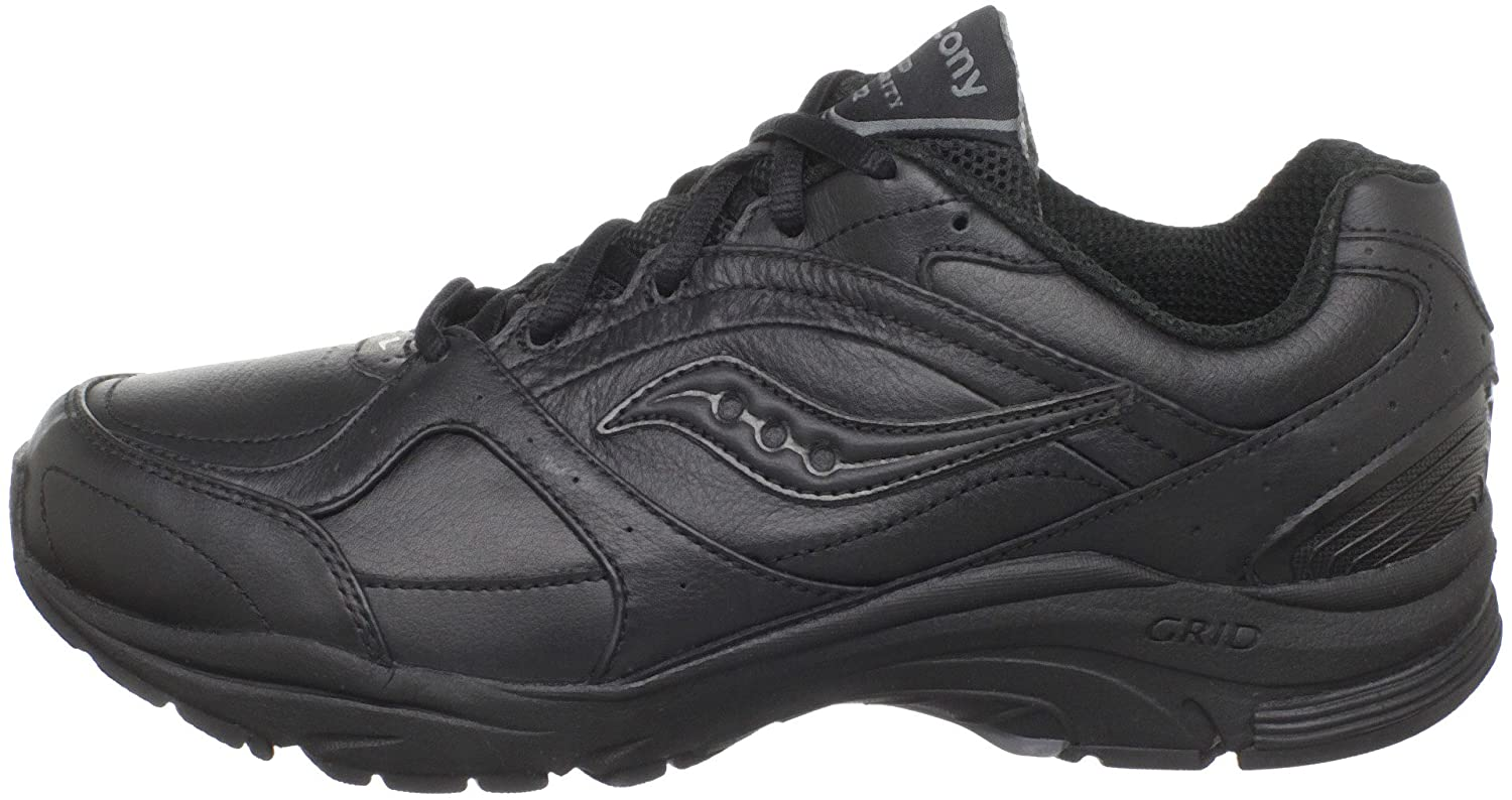 Saucony Women's ProGrid Integrity B(M) ST2 Walking Shoe B00413QUE2 8 B(M) Integrity US|Black/Grey d7d052