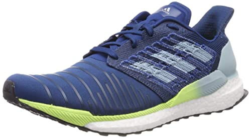 online store 43f45 11e63 adidas Mens Solar Boost M Running Shoes Blue Legend MarineAsh Grey S18Hi