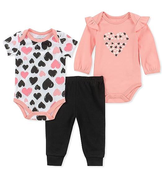 e438683ee Calvin Klein - Juego de 3 Pantalones de chándal para bebé